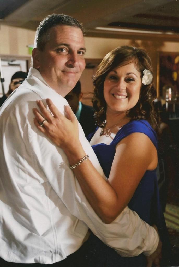 Scott Fiorilli and his wife, Eve