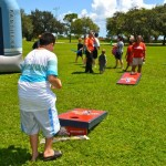 2012 appreciation picnic - bean bag toss