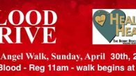 The Bobby Resciniti Healing Hearts Foundation invites you to participate in the blood drive taking place during the 2017 Angel Walk Sunday, April 30th. All donors will receive a […]