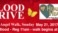 The Bobby Resciniti Healing Hearts Foundation invites you to participate in the blood drive taking place during the 2017 Angel Walk Sunday, May 21st. All donors will receive a […]