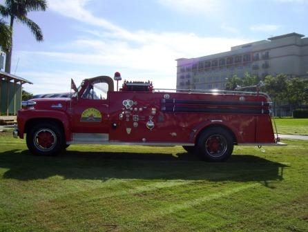 Gold Coast fire truck