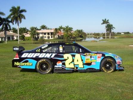 Pepsi race car
