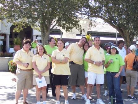 golf committee and volunteer