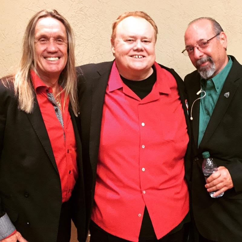 Comedian - Louie Anderson and Iron Maiden - Nicko McBrain! Two awesome friends of Healing Hearts