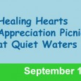 Coming up in September 13th is our Healing Hearts Appreciation Picnic for all of our supporters, volunteers, sponsors, donors and friends of the foundation! It will be a GREAT day […]