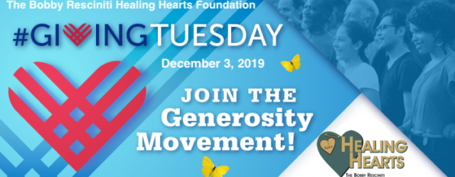 You have the opportunity to celebrate philanthropy and join the global giving movement – #GivingTuesday for Healing Hearts. This #GivingTuesday, we need your help. After your shopping frenzy on Black Friday and great […]
